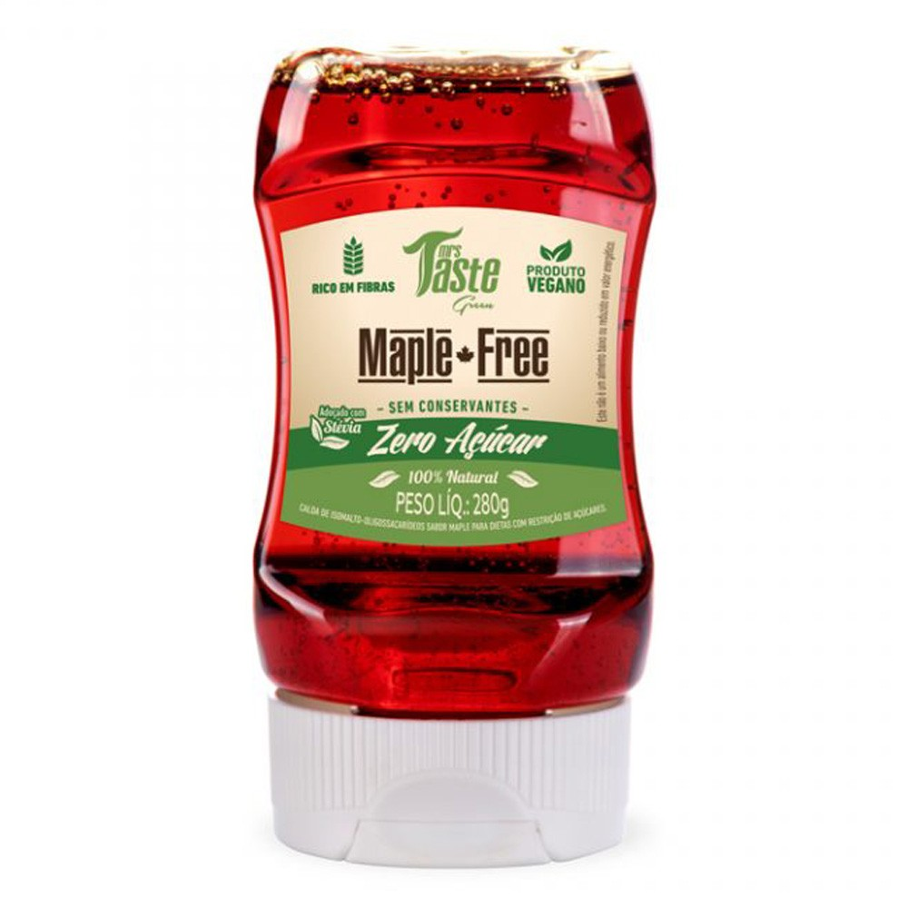 Maple Free Zero Sódio Zero Açúcar 100% Natural Mrs. Taste 280g