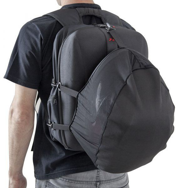 Mochila X11 Hardcase Bolsa Mala Com Capa de Chuva Impermeável Notebook Laptop Motociclista Ciclista