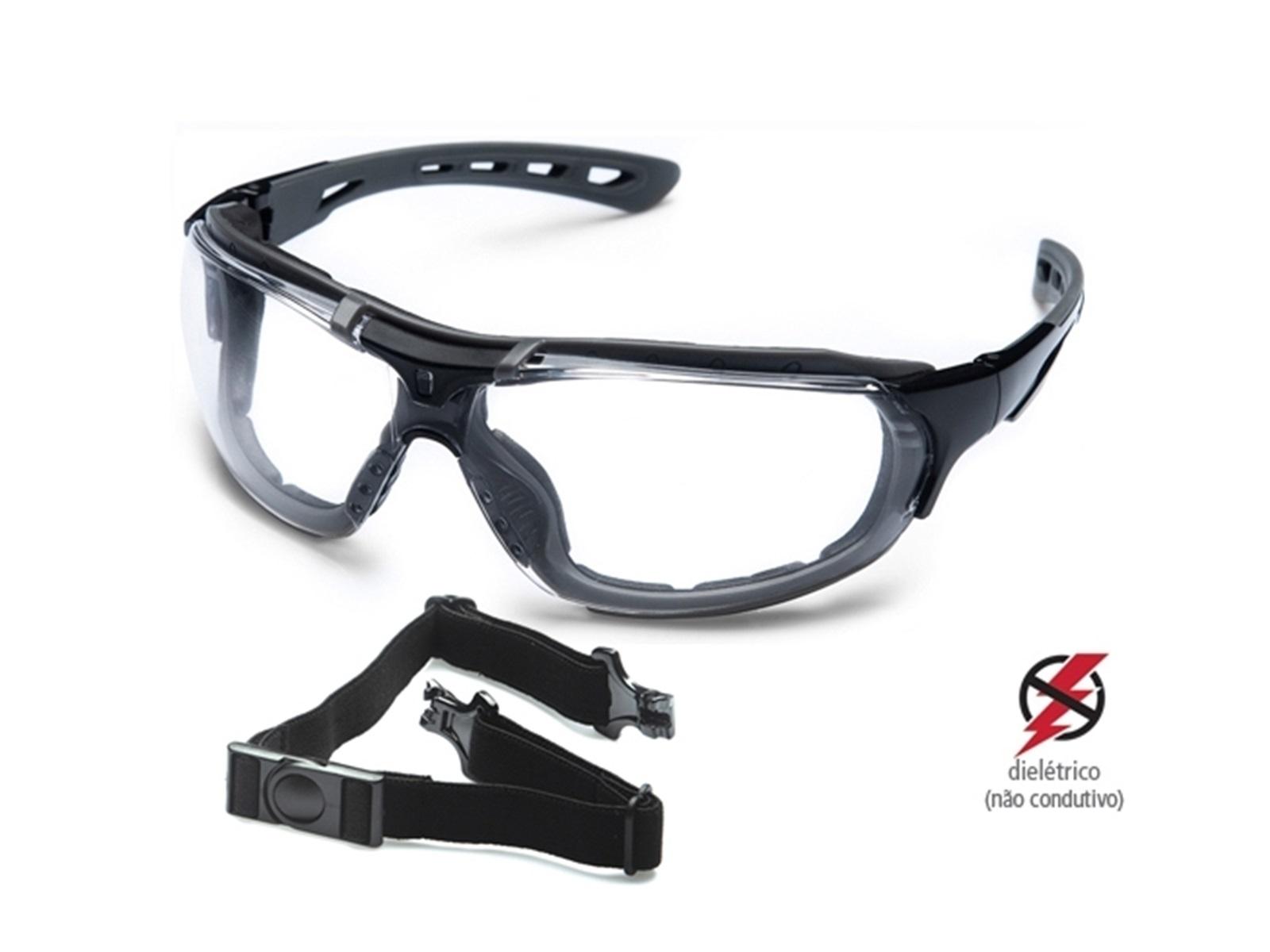Óculos De Proteção UV Steelflex Anti Embaçante Tático Ciclista Motociclista Roma Ca 40903 ANSI Z87.1-2015  - EPM Acessórios