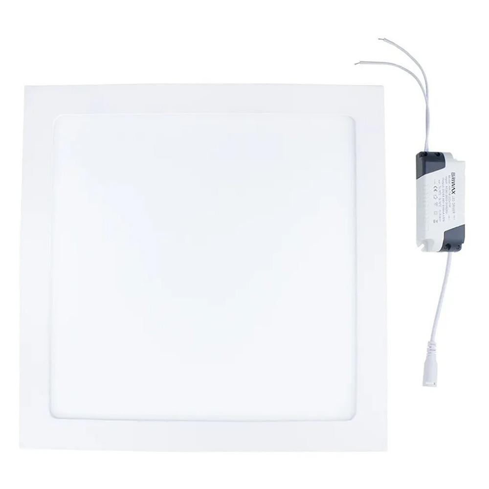 Painel Plafon 25w Led Quadrado Sobrepor Branco Frio Teto  - EPM Acessórios