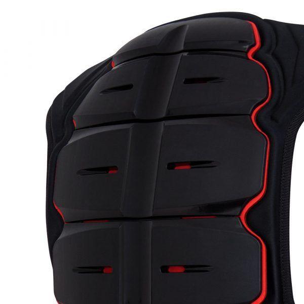 Protetor de Coluna Cervical X11 Kasc Articulado Preto Motociclista Motoqueiro