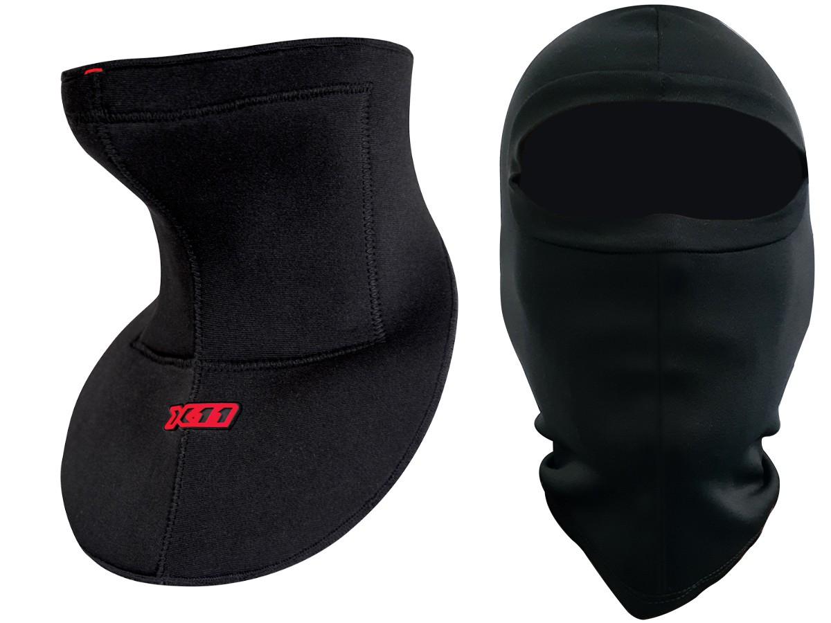 Protetor de Pescoço X11 Anti Linha Com Cerol Pescoceira Motociclista + Balaclava