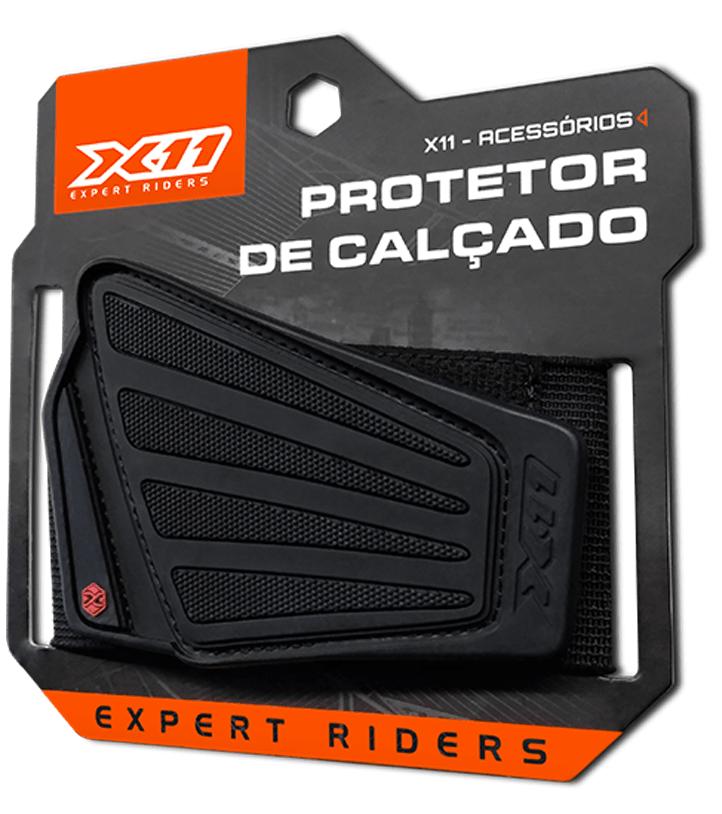 Protetor Para Tênis Sapato Moto Motociclista Pedal Marcha