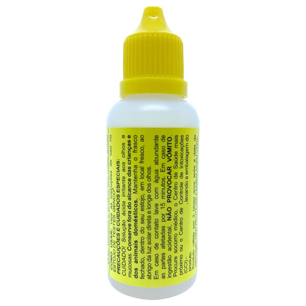 Reagente De Reposição CL-OT Para Piscinas Frasco 23ml Genco