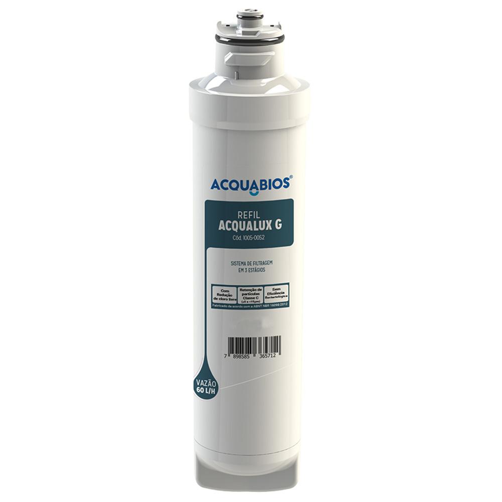 Refil Para Filtro Purificador de Água Compatível Com Filtros Electrolux Acqualux G Acquabios  - EPM Acessórios