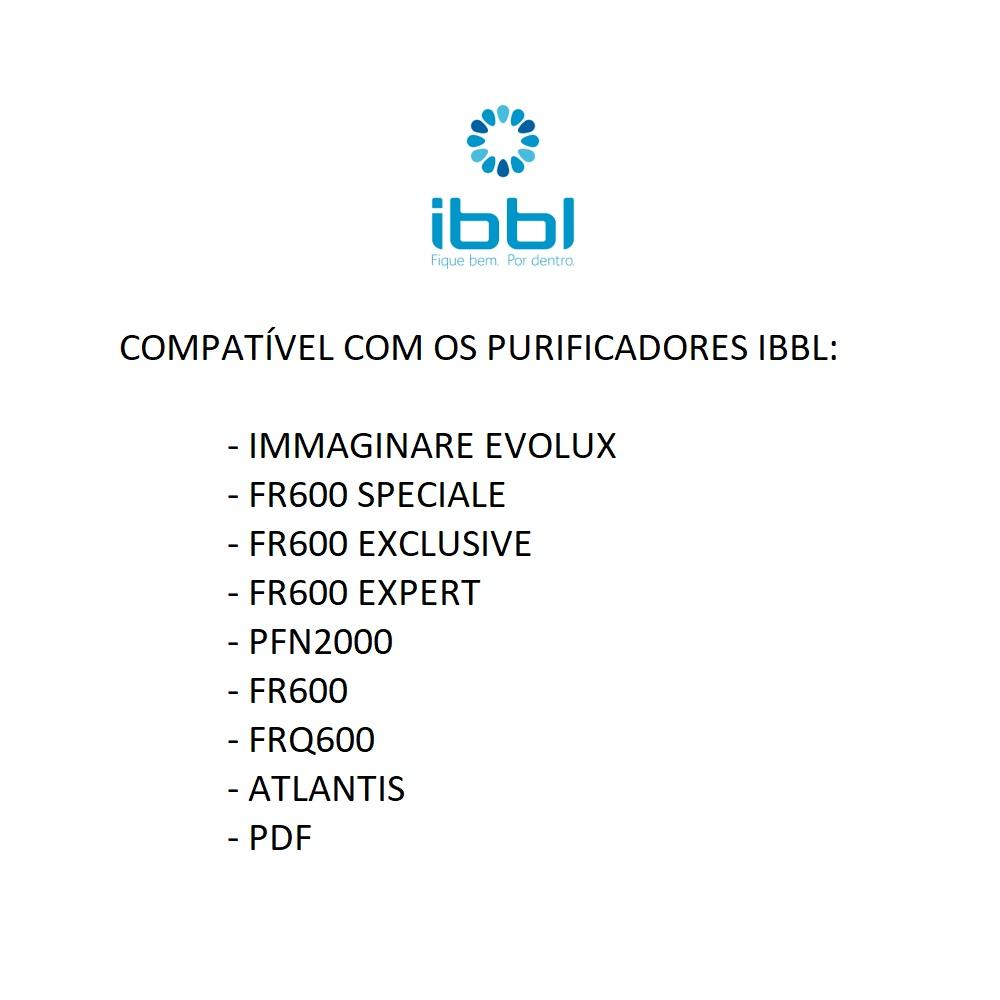 Refil Para Filtro Purificador de Água Compatível Com Filtros IBBL AB+5 Acquabios  - EPM Acessórios