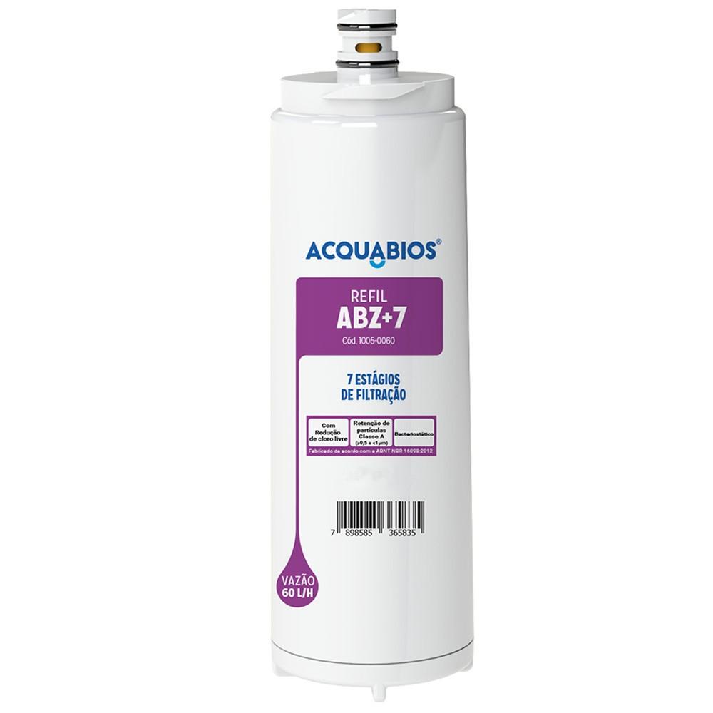 Refil Para Filtro Purificador de Água Compatível Com Filtros IBBL ABZ+7 Acquabios