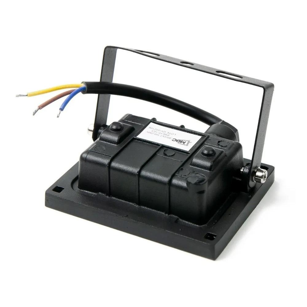 Refletor Led Holofote 10w Slim Branco Frio Bivolt Resistente a Água Ip66