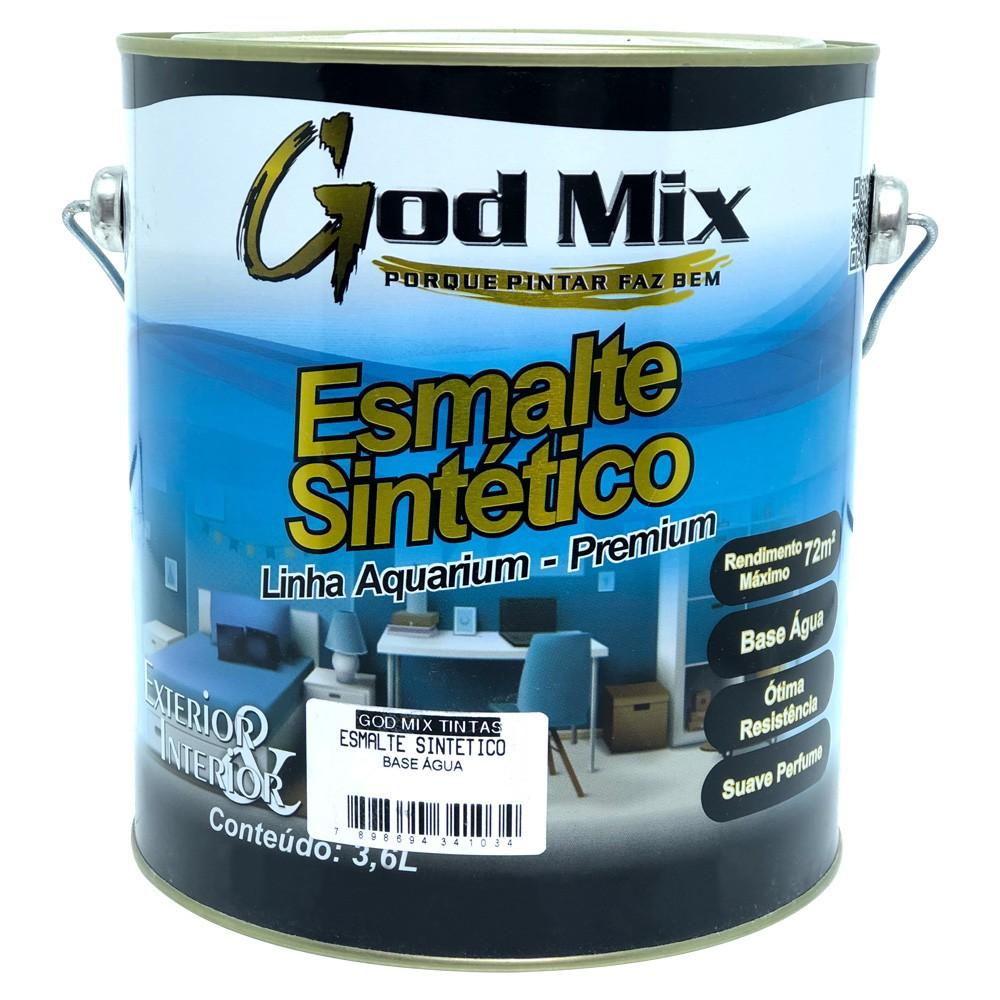Tinta Esmalte Sintético Acrílico à Base d'água Linha Aquarium God Mix 3,6 L Cores Diversas