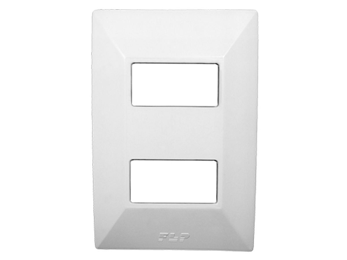 Tomada Dupla 2p+t 20A Com Placa Espelho Branco Linha Dubai Bivolt 127v e 250v
