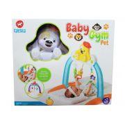 Baby Gym Pet Cores Amarelo/branco 909 Calesita