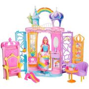 Barbie Castelo De Arco Iris Frb15 - Mattel