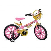 Bicicleta Infantil Princesas Disney Aro 16 3109 - Bandeirante
