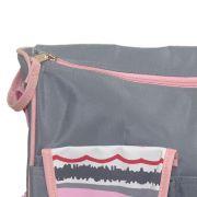 Bolsa Para Bebê Com Trocador  Ondas Rosa 69004 Baby Style