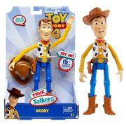 Boneco Toy Story 4 True Talkers Woody Com Sons Gfl88 - Mattel