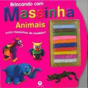 Livro Brincando Com Massinhas - Animais