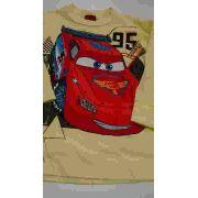 Camiseta Carros Cor Amarela Tam: 1