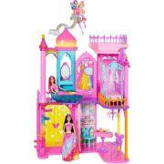 Castelo Arco Iris Barbie Dpy39 Mattel