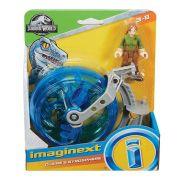 Imaginext Figura Jurassic World Claire e Giroesfera Fmx93 - Mattel