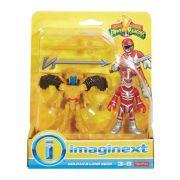 Imaginext Power Rangers Goldar E Lord Zedd Dfy63 - Mattel