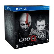 Jogo God Of War Collector's Edition Ps4 - Mgsp