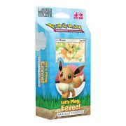 Jogo Pokémon Starter Deck Let's Play Eevee - Copag
