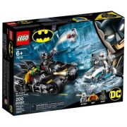 Lego  Dc Combate De Bat Moto E Mr Freeze 76118