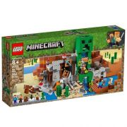 Lego Minecraft A Mina Do Creeper 21155