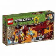 Lego Minecraft A Ponte Flamejante 21154