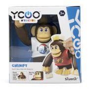 Macaco Interativo Chimpy Silverlit Ycoo Branco 3300 - Candide