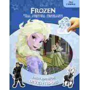 Meus Adesivos Divertidos Frozen Uma Aventura Congelante - Dcl