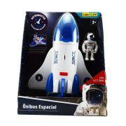 ônibus Espacial Astronautas Com Luz E Som 63112 - Brinquedos Chocolate