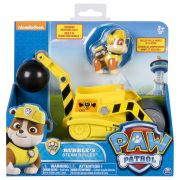 Patrulha Canina Rubble Com Veiculo Steam Roller 1302 - Sunny