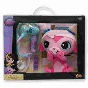 Pelúcia Littlest Pet Shop Kit Veterinário Minka  79216