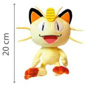 Pelucia Pokemon Meowth 20 Cm 4848 Dtc