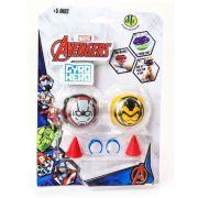 Piões de Batalha Giro Hero Disney Marvel Avengers Homem Formiga e Vespa 4923 - DTC