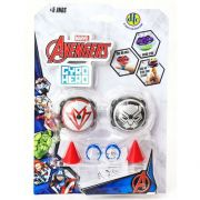 Piões de Batalha Giro Hero Disney Marvel Avengers Pantera Negra e Falcão 4923 - DTC