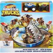 Pista Hot Wheels Ataque Do Tubarão Mecha  FYK14 Mattel