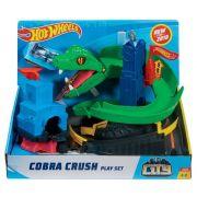 Pista Hot Wheels City Conjunto Ataque De Cobra FNB20  Matt