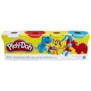Play Doh Massa Pote Com 4 Dinossauros B6508/B5517 - Hasbro