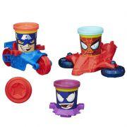 Play Doh Veiculos Marvel B0606 - Hasbro