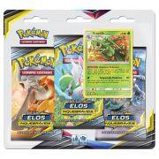 Pokemon Cartas Sol E Lua 10 Elos Inquebráveis Sceptile Blister Triplo Com 19 Cards