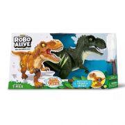 Robô Alive T-Rex Verde 1113- Candide