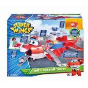Super Wings Torre De Decolagem Do Jett  83417 - Fun