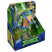 Tartarugas Ninja Ascensão Leonardo Luxo Gigante Com 4 Acessorios 2042 - Sunny