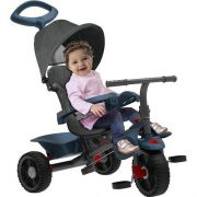 Triciclo Smart Reclinavel Azul 1310 Bandeirante