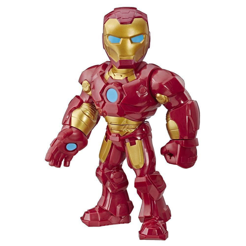 Boneco Marvel Super Hero Adventures Iron man E4150/E4132 - Hasbro