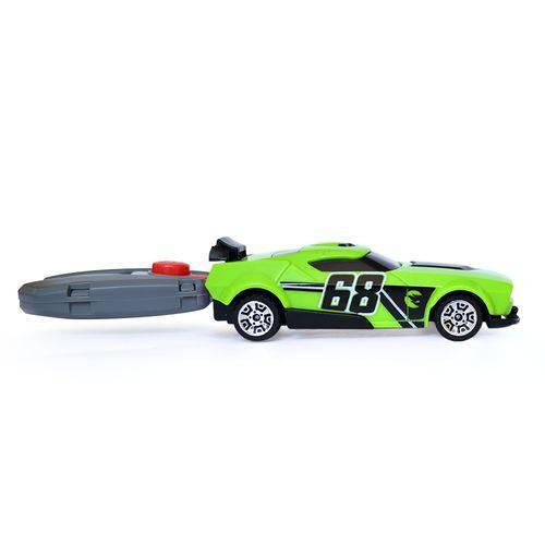 Chave Lançadora Radical Hot Wheels Verde 82787 - Fun