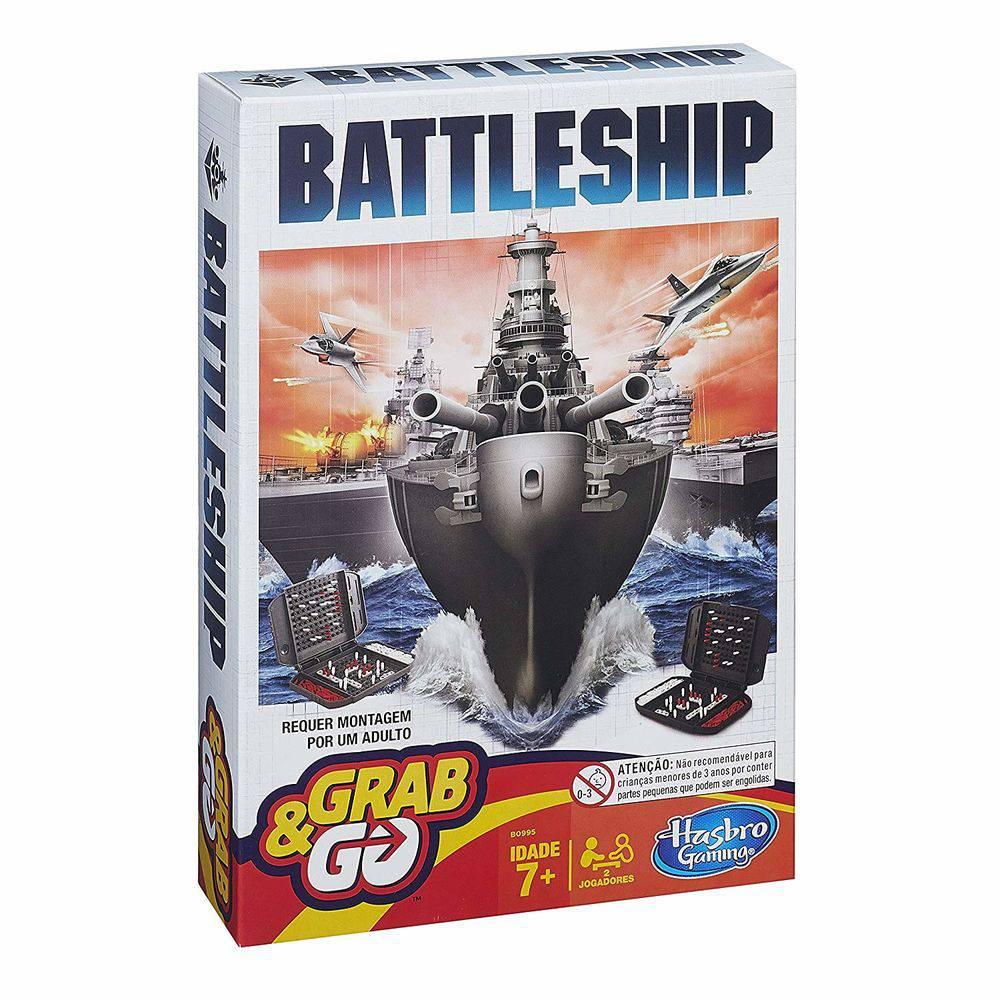 Jogo Battleship Grab & Go B0995 - Hasbro