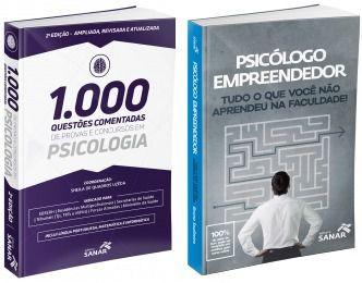 1000 Quest Psicologia 2ª Ed + Psicólogo Empreendedor